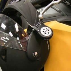 How to Secure your Helmet to Your Motorcycle with a Holder?