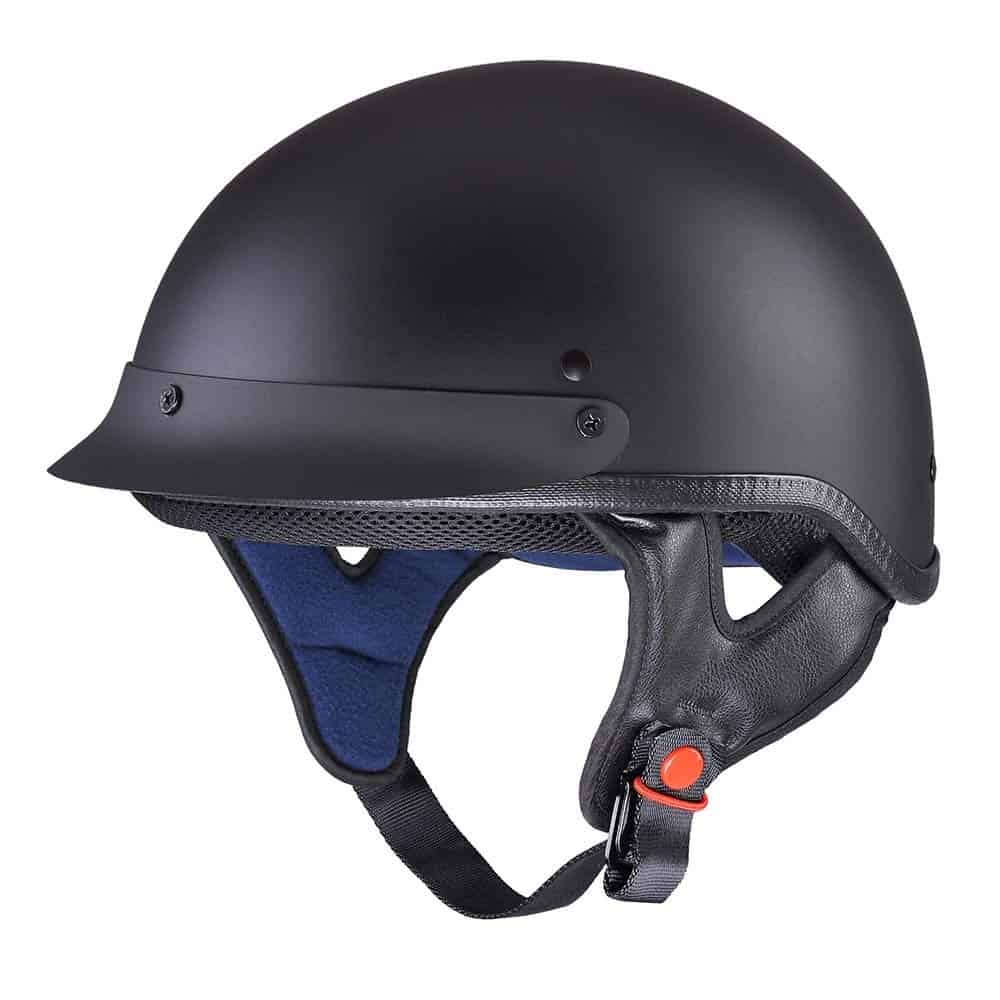 AHR Motorcycle Half Helmet is so cheap you can get another for your friend