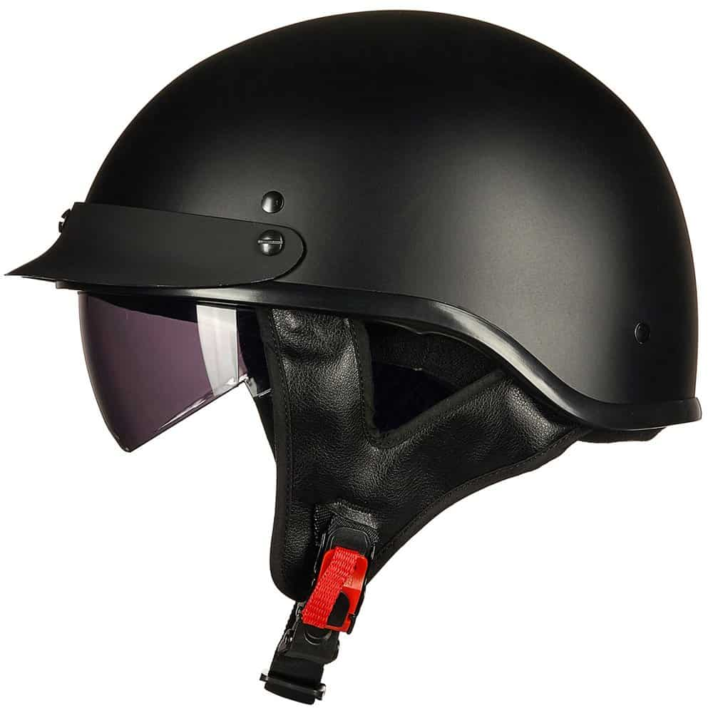 The ILM Motorcycle Half Helmet has premium venting