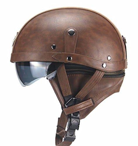 The Woljay Half Helmet reminds you of old cartoons